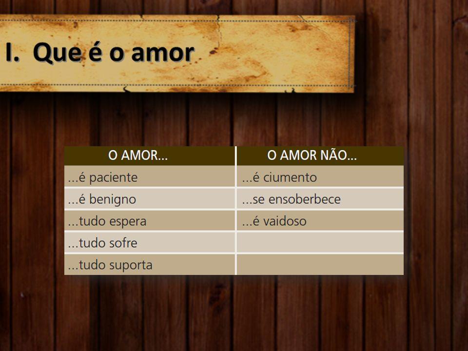Que é o amor