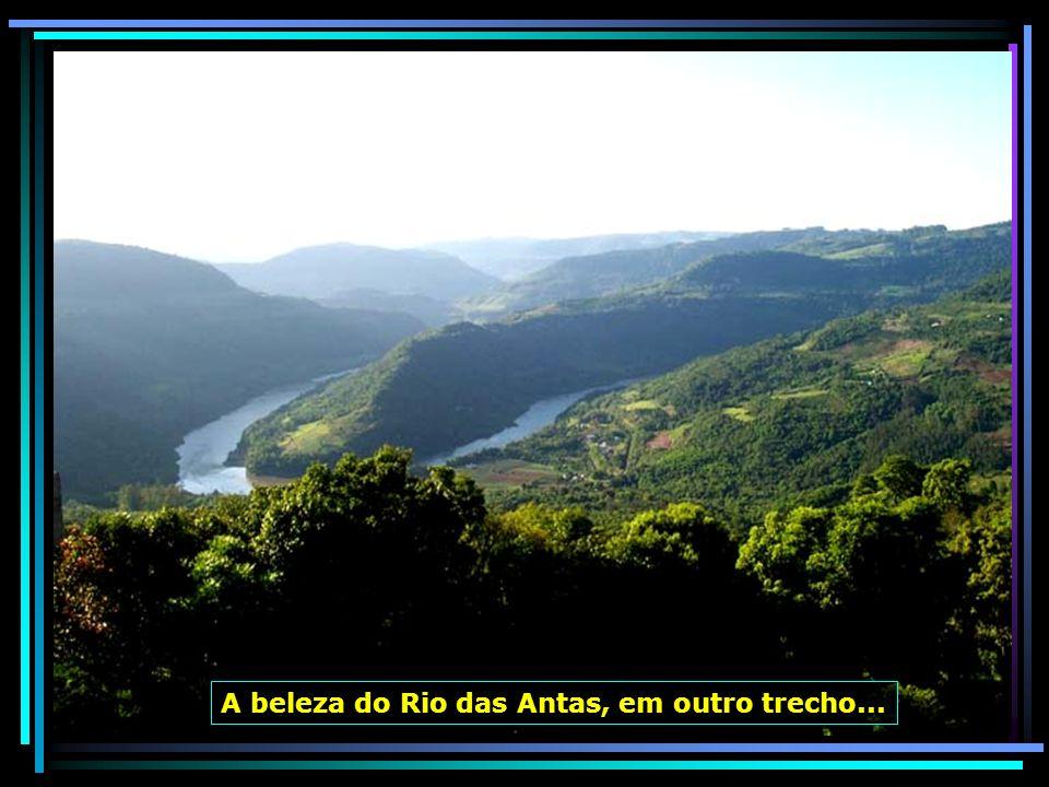 A beleza do Rio das Antas, em outro trecho...