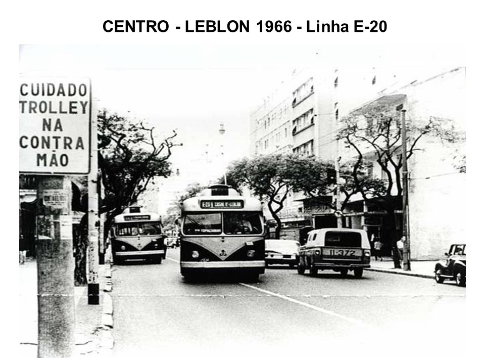 CENTRO - LEBLON 1966 - Linha E-20