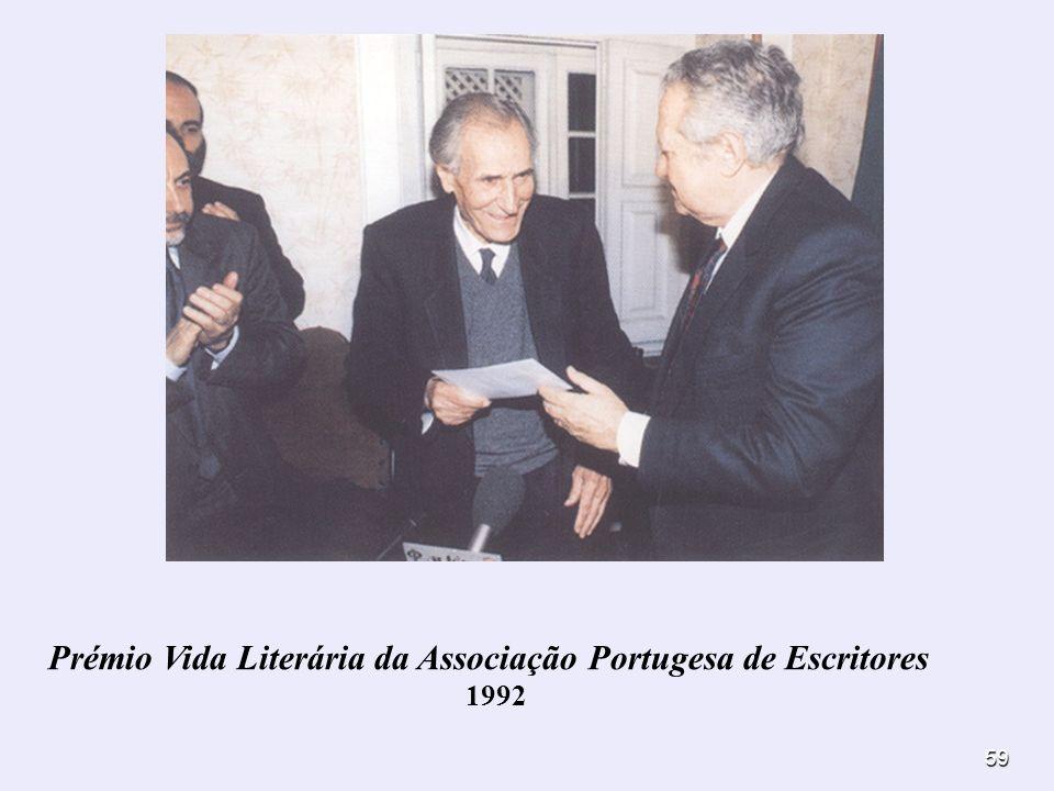 Prémio Vida Literária da Associação Portugesa de Escritores
