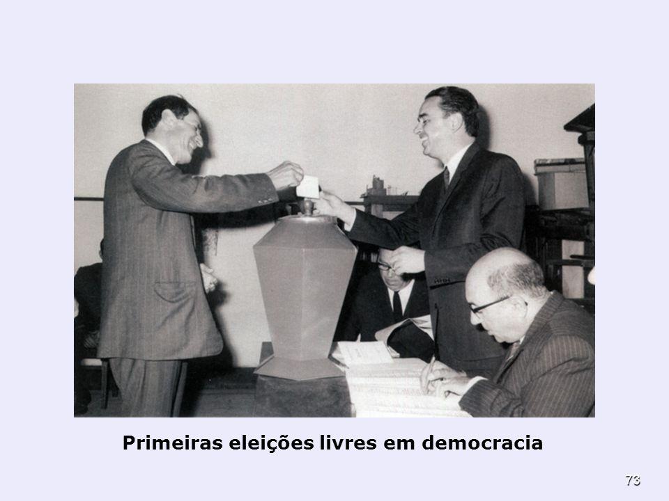 Primeiras eleições livres em democracia