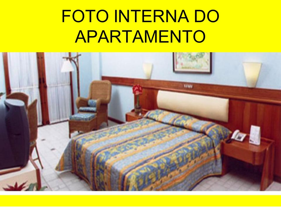 FOTO INTERNA DO APARTAMENTO