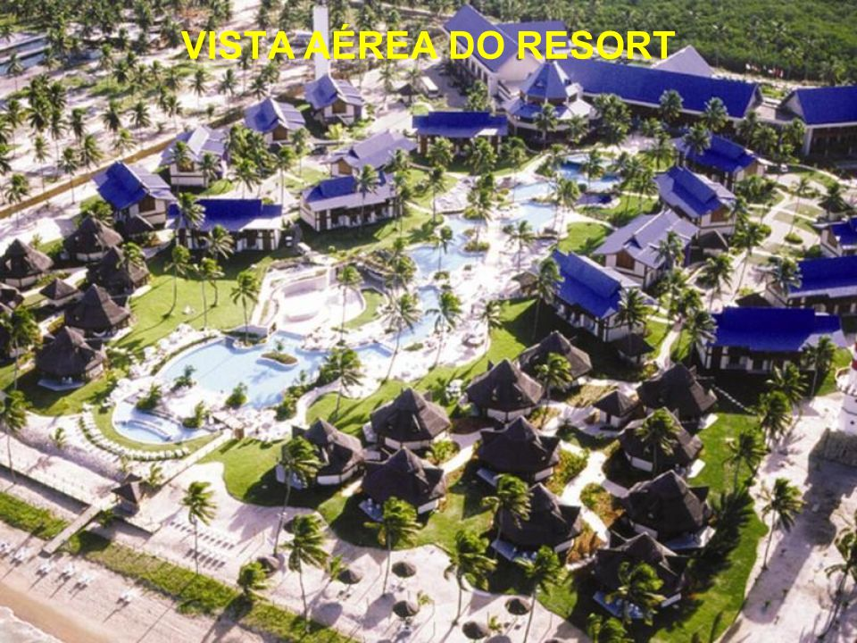 VISTA AÉREA DO RESORT