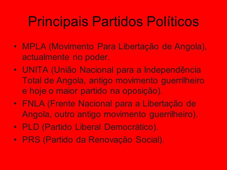 Principais Partidos Políticos