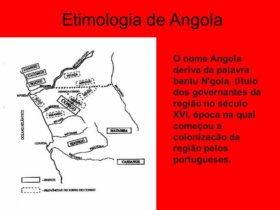 Etimologia de Angola
