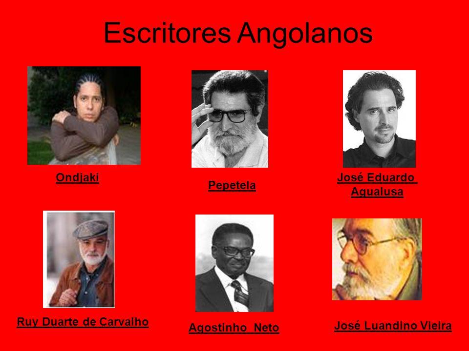 Escritores Angolanos Ondjaki José Eduardo Agualusa Pepetela