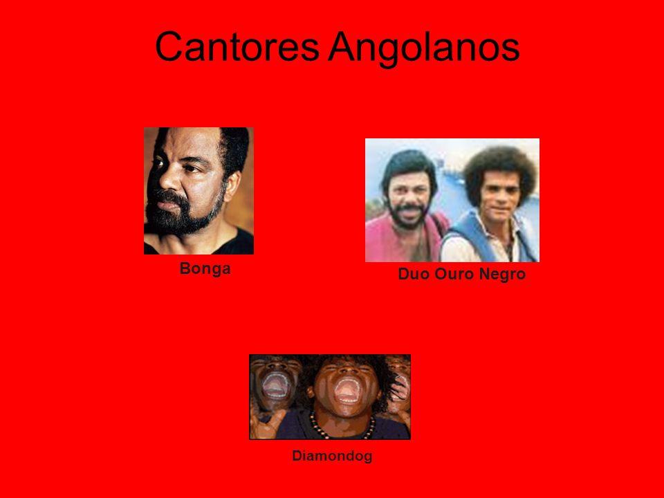 Cantores Angolanos Bonga Duo Ouro Negro Diamondog
