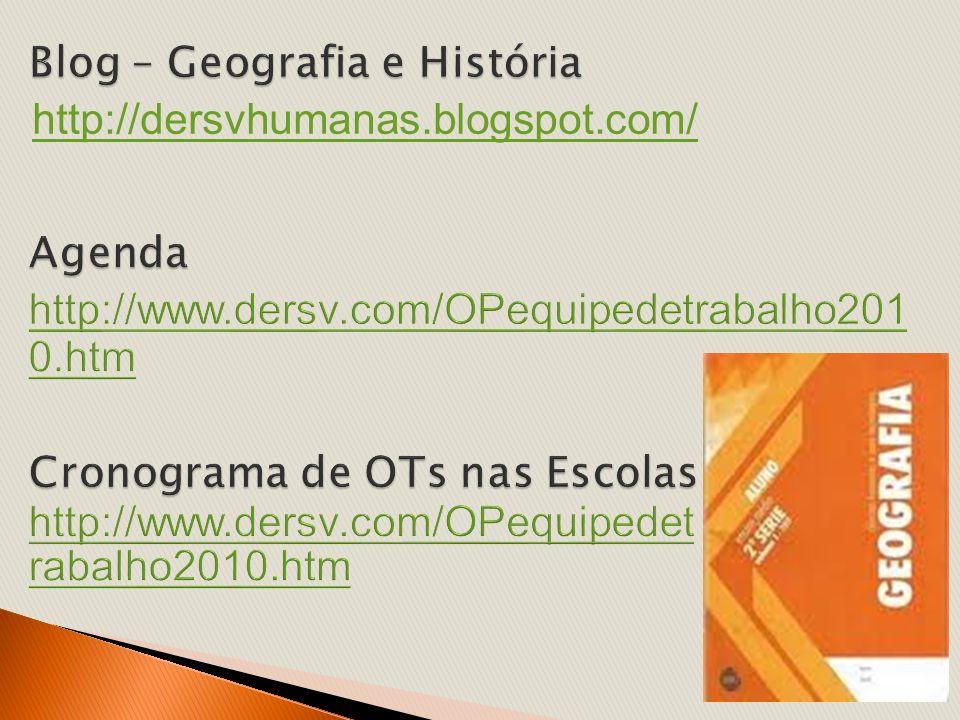 Blog – Geografia e História