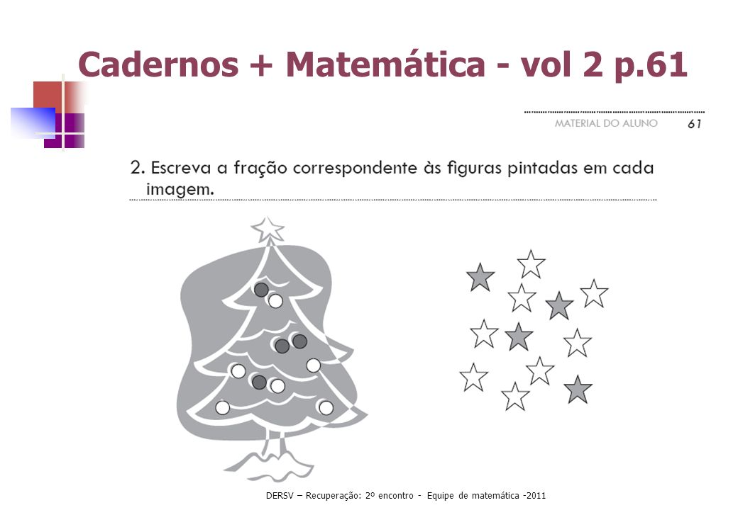 Cadernos + Matemática - vol 2 p.61