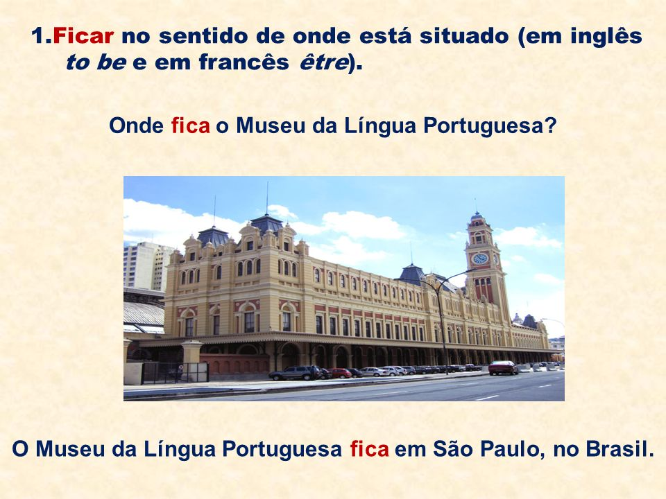 Onde fica o Museu da Língua Portuguesa