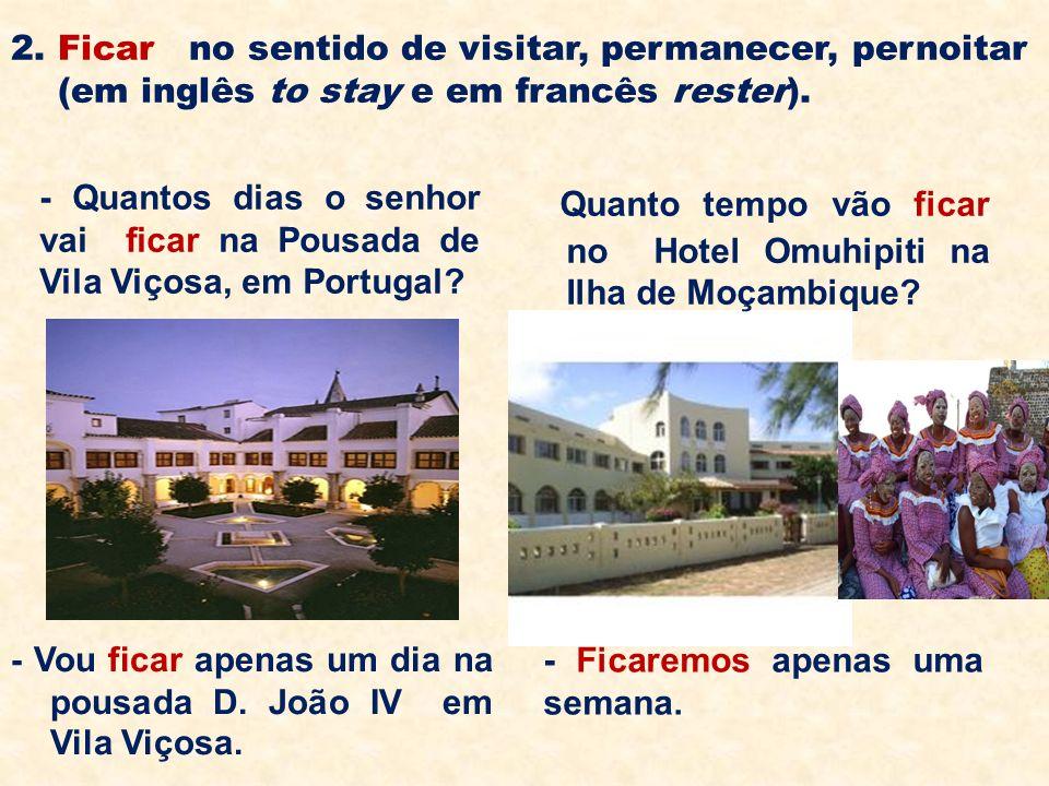 Quanto tempo vão ficar no Hotel Omuhipiti na Ilha de Moçambique