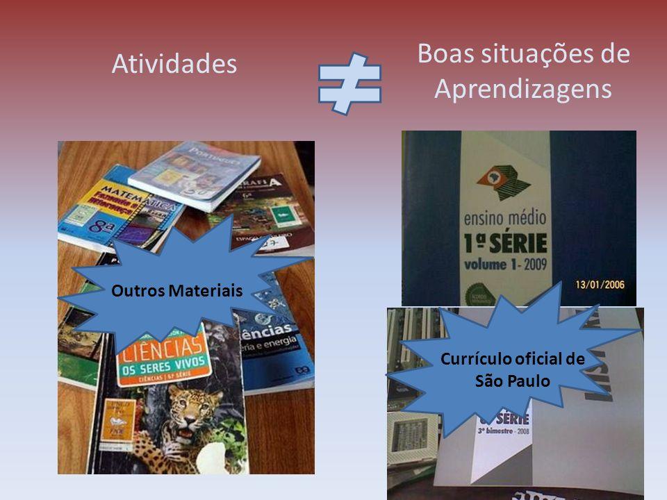 Currículo oficial de São Paulo