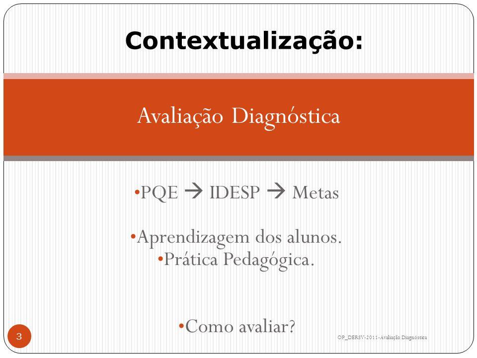 Avaliação Diagnóstica