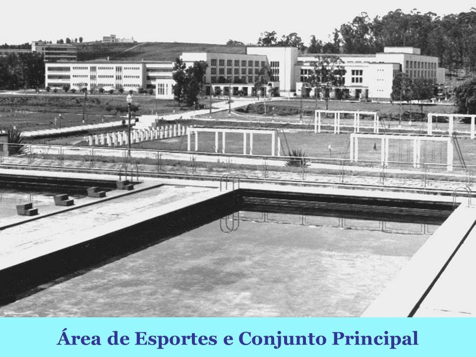Área de Esportes e Conjunto Principal