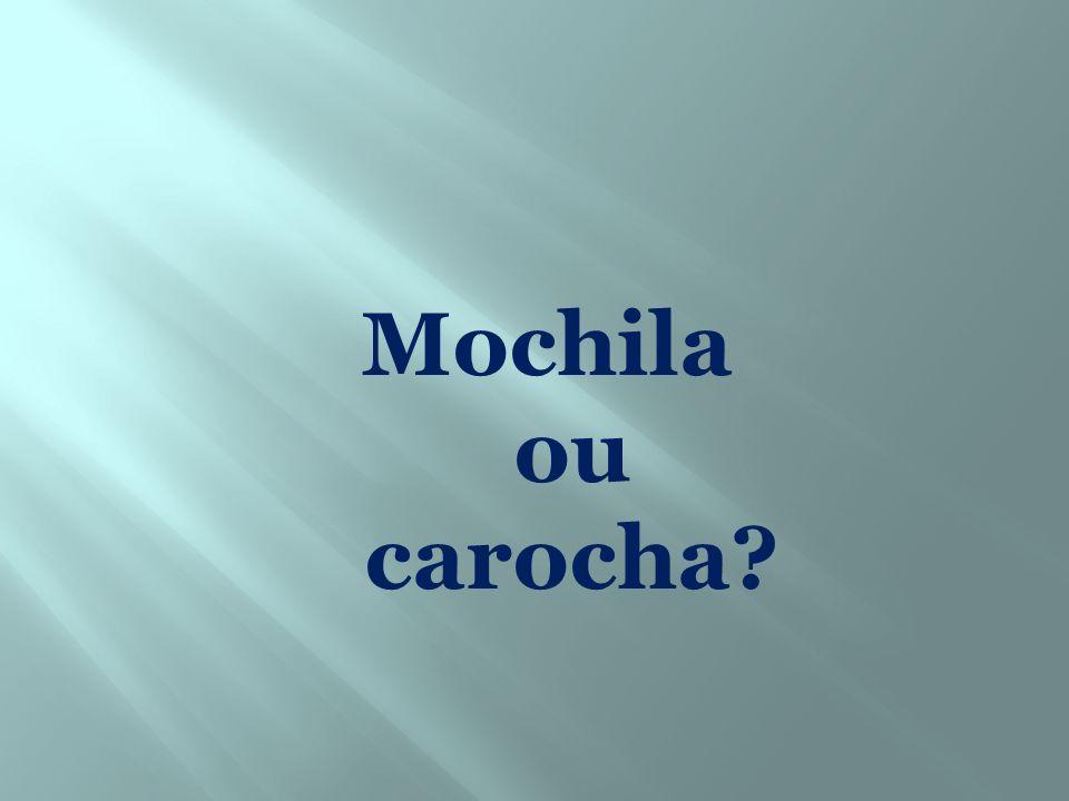 Mochila ou carocha