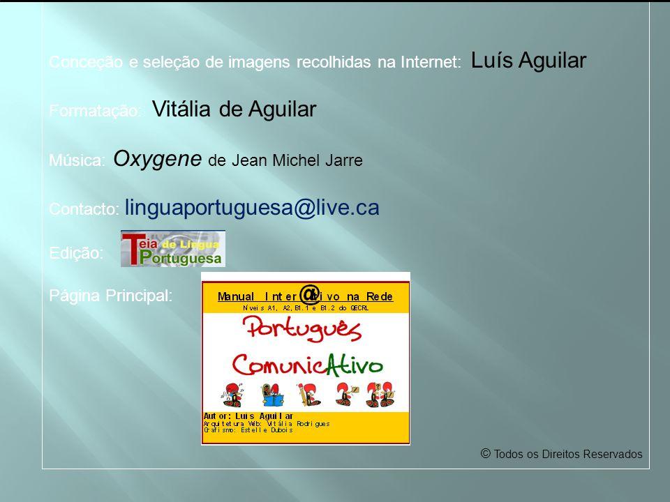 Conceção e seleção de imagens recolhidas na Internet: Luís Aguilar
