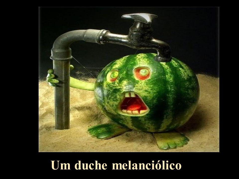 Um duche melanciólico