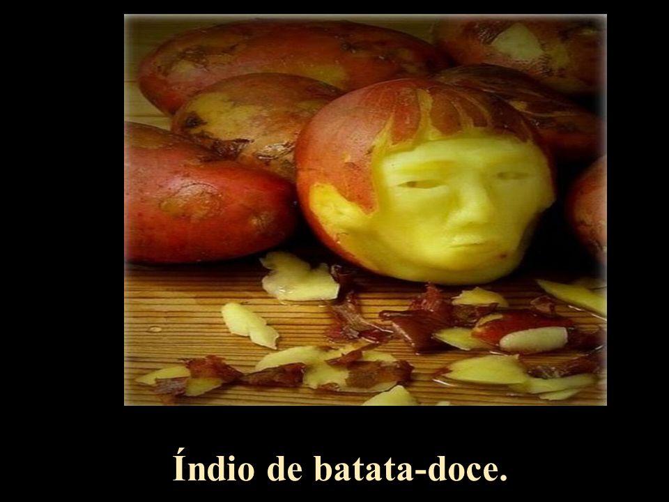 Índio de batata-doce.