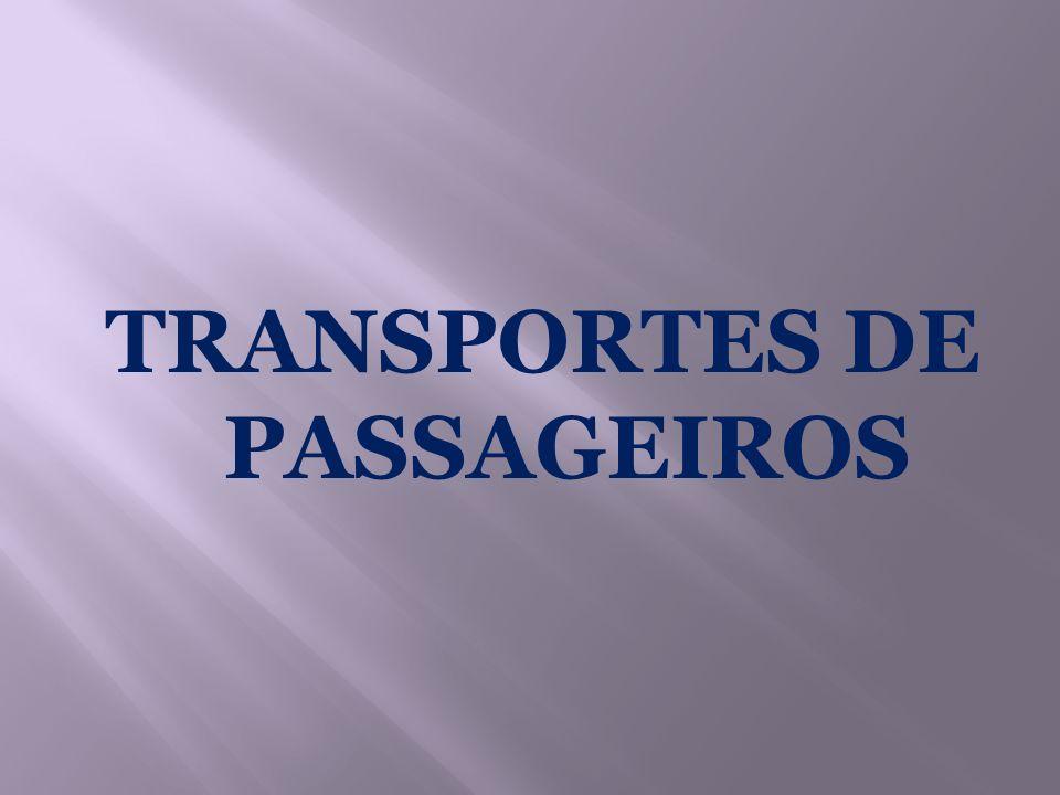 TRANSPORTES DE PASSAGEIROS