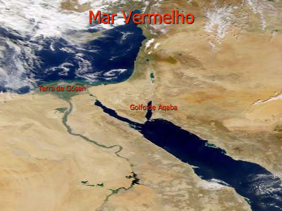 Mar Vermelho Terra de Gósen Golfo de Aqaba