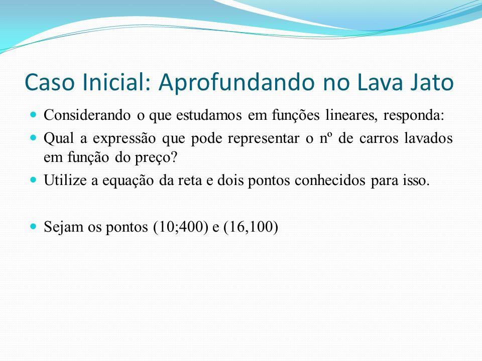 Caso Inicial: Aprofundando no Lava Jato
