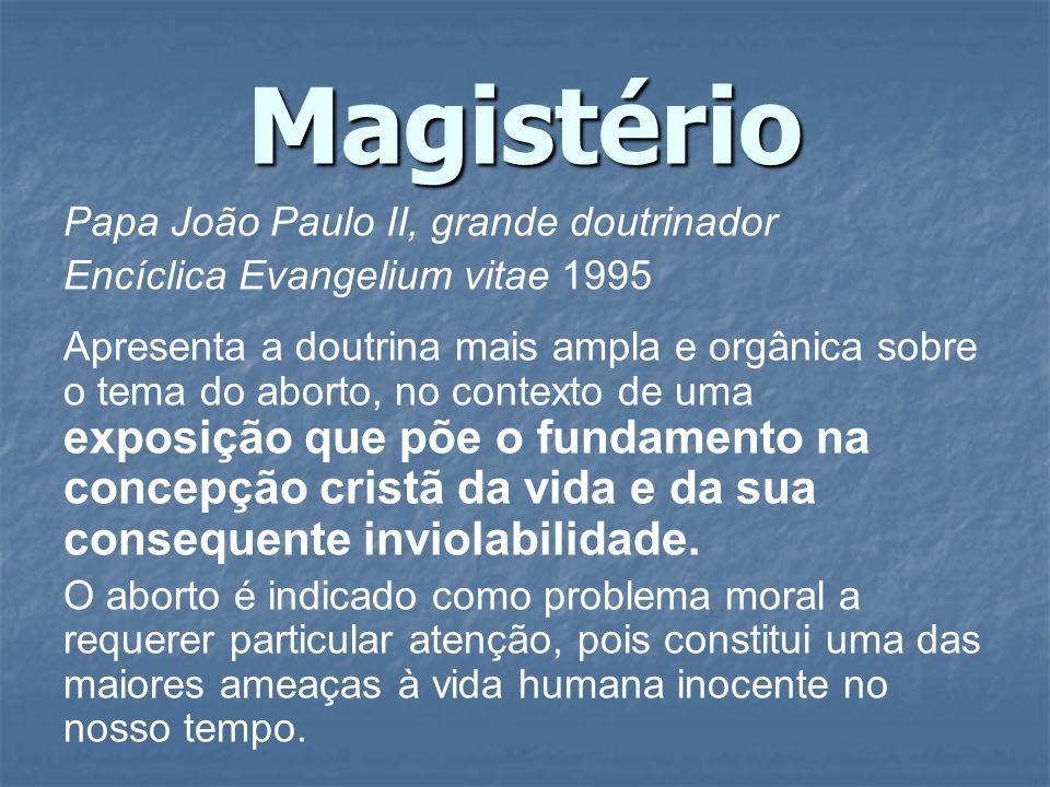 Magistério Papa João Paulo II, grande doutrinador