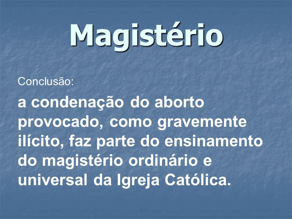 Magistério Conclusão: