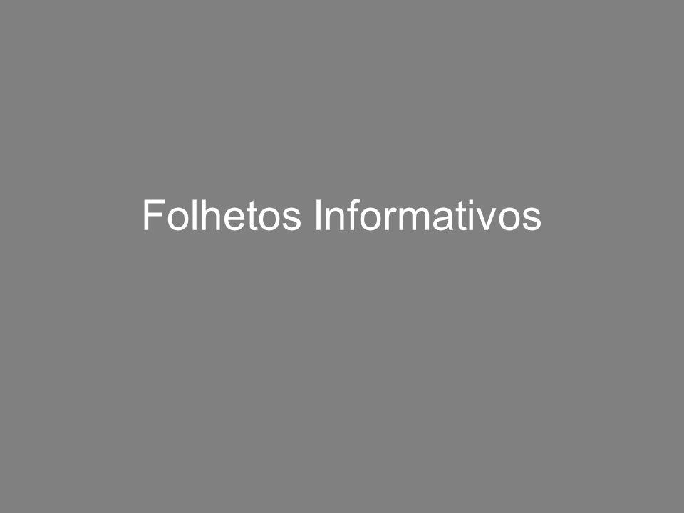 Folhetos Informativos
