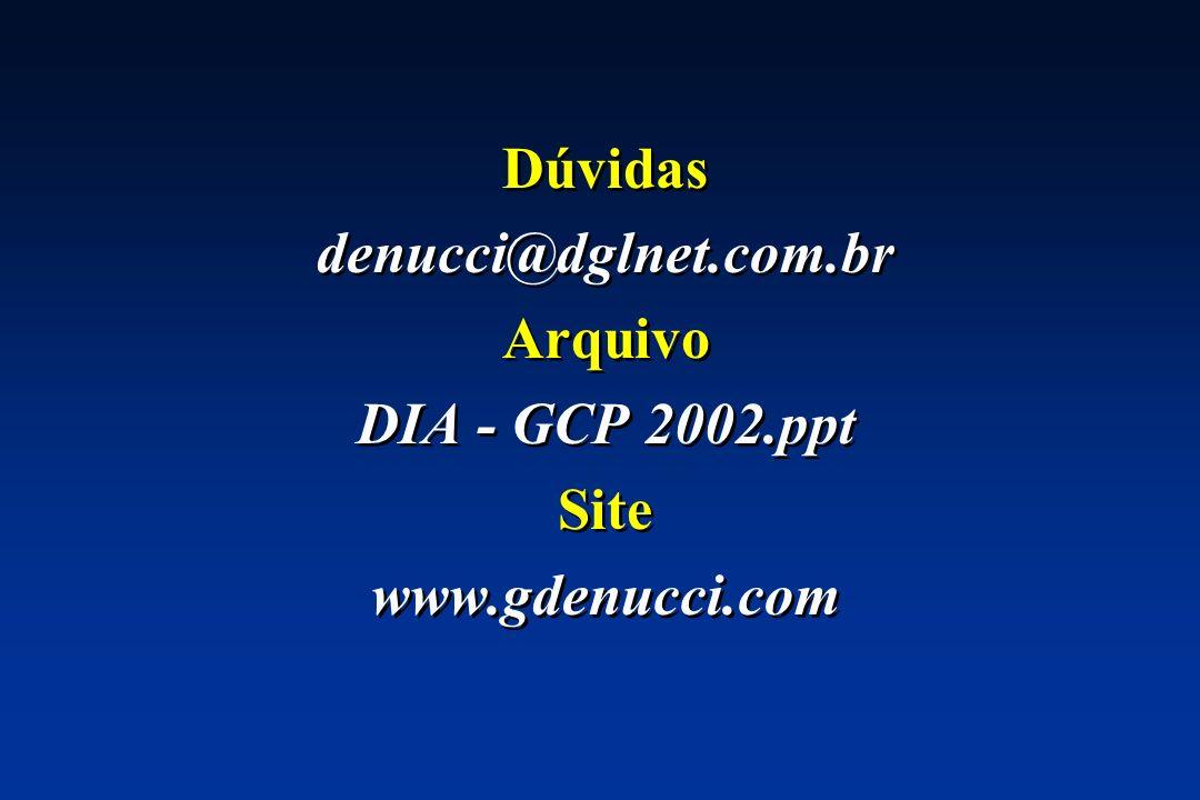 Dúvidas denucci@dglnet.com.br Arquivo DIA - GCP 2002.ppt Site www.gdenucci.com