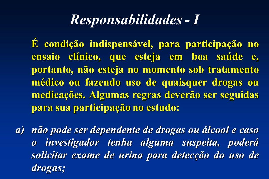 Responsabilidades - I