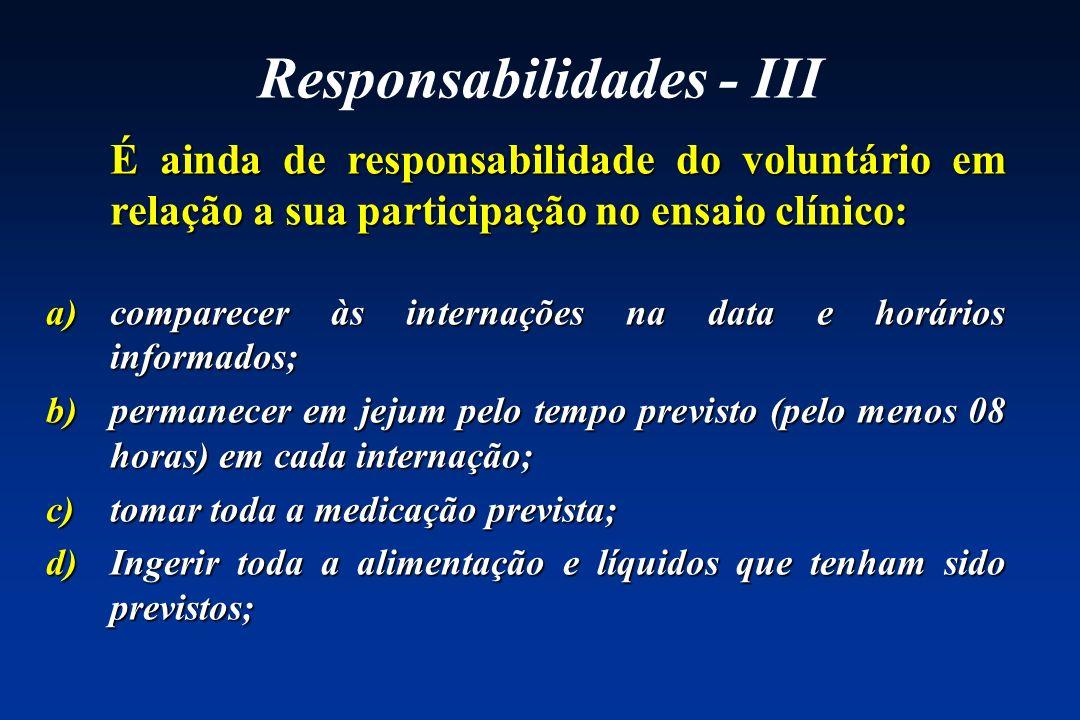 Responsabilidades - III