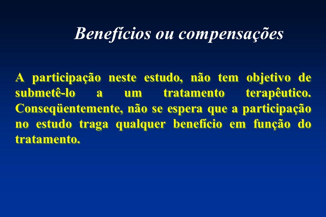 Benefícios ou compensações