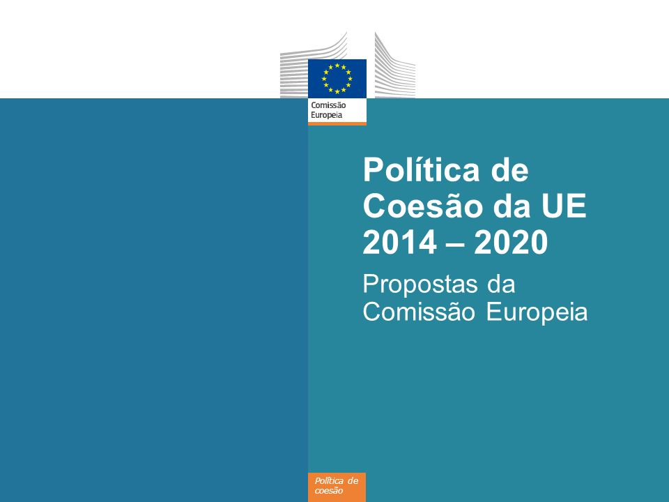 Política de Coesão da UE 2014 – 2020