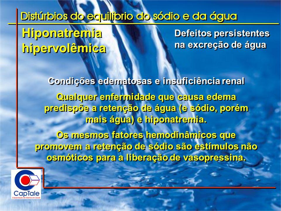Condições edematosas e insuficiência renal