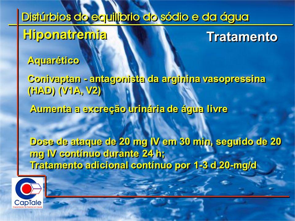 Hiponatremia Tratamento Aquarético