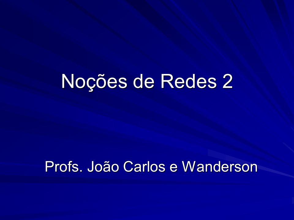 Profs. João Carlos e Wanderson