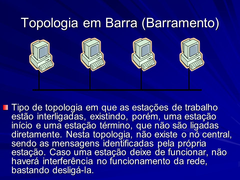 Topologia em Barra (Barramento)