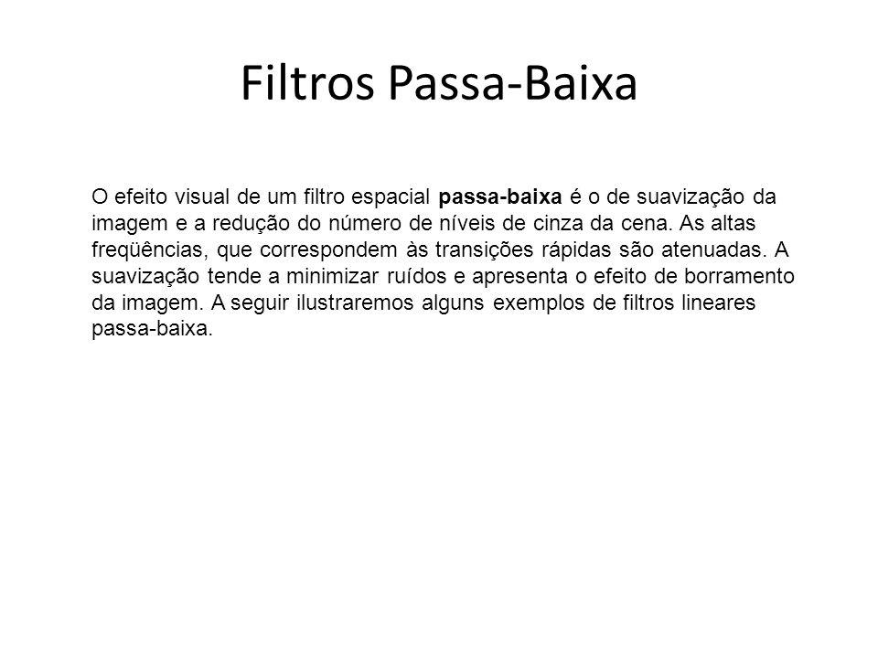 Filtros Passa-Baixa