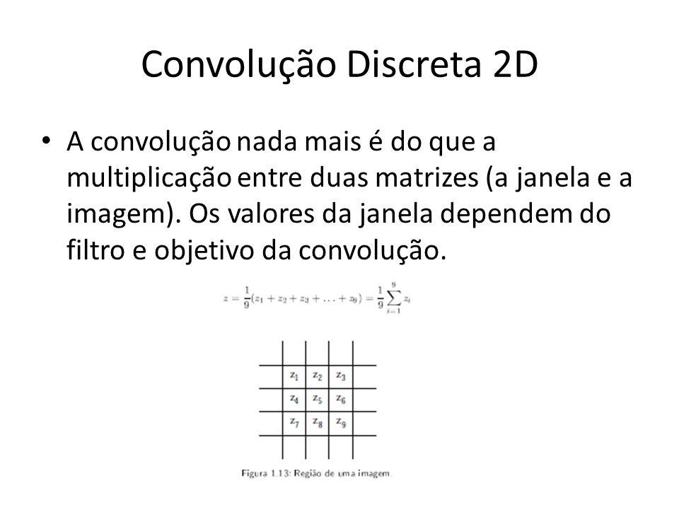 Convolução Discreta 2D