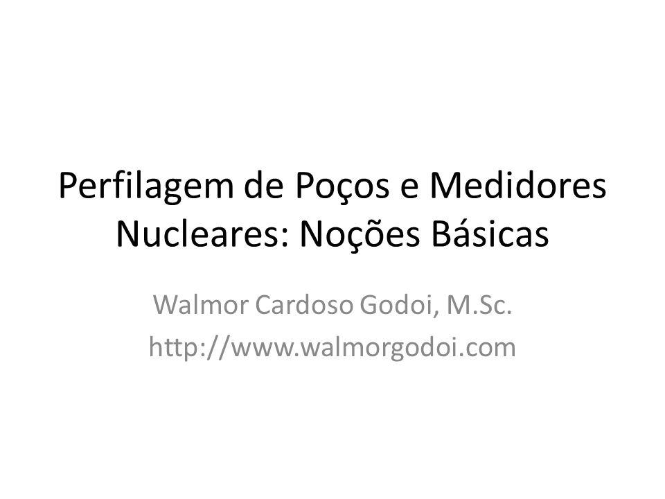 Perfilagem de Poços e Medidores Nucleares: Noções Básicas