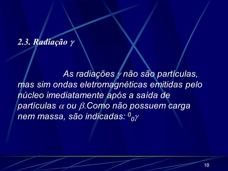 2.3. Radiação 