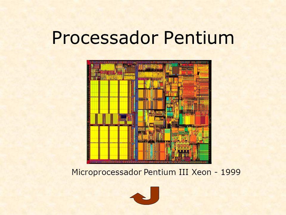 Processador Pentium Microprocessador Pentium III Xeon - 1999