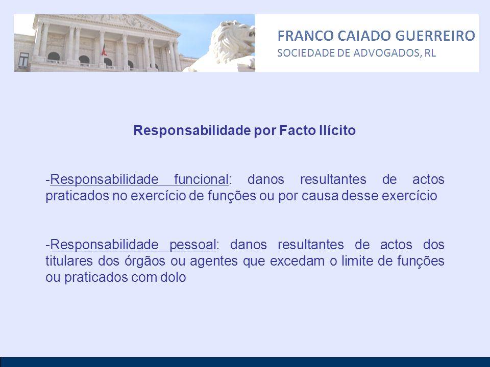 Responsabilidade por Facto Ilícito