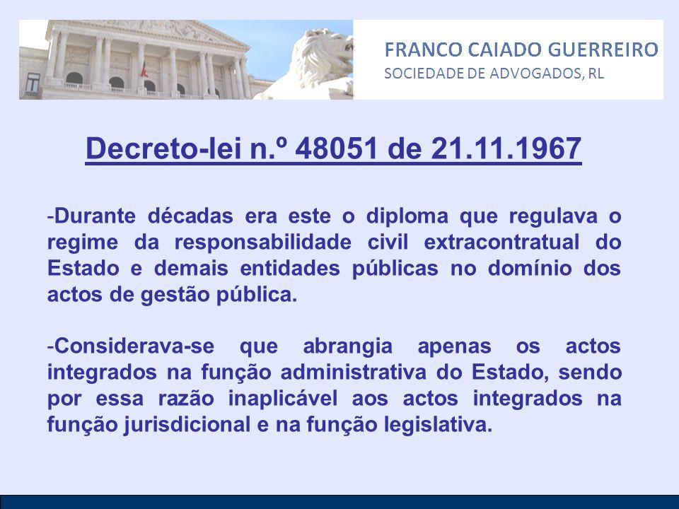 Decreto-lei n.º 48051 de 21.11.1967