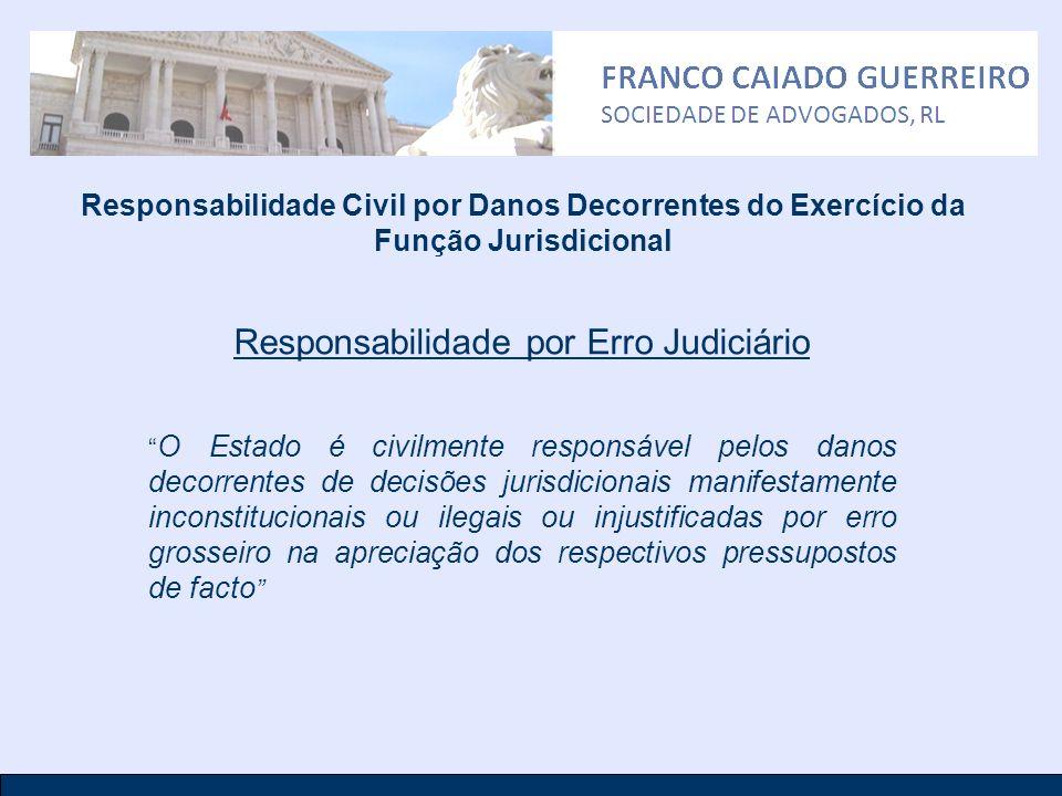 Responsabilidade por Erro Judiciário