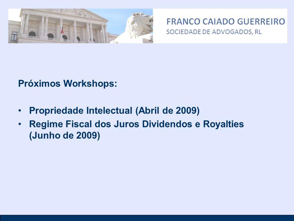 Propriedade Intelectual (Abril de 2009)