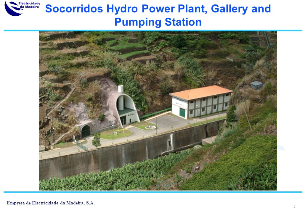 Socorridos Hydro Power Plant, Gallery and Pumping Station