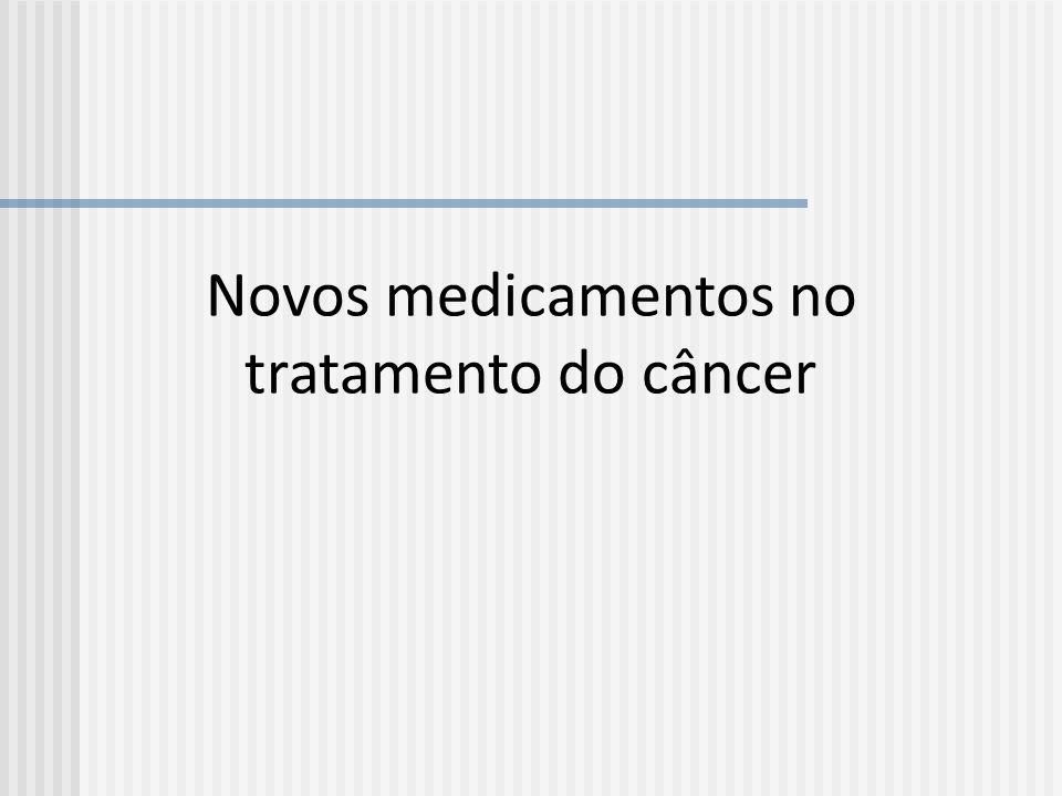 Novos medicamentos no tratamento do câncer