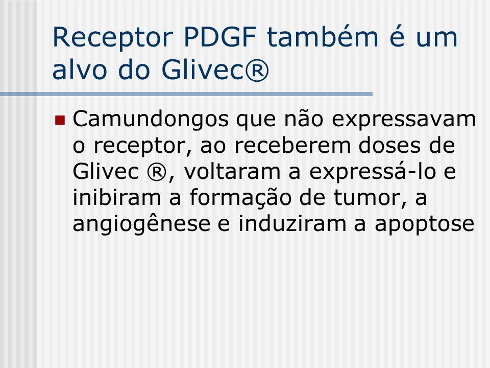 Receptor PDGF também é um alvo do Glivec®
