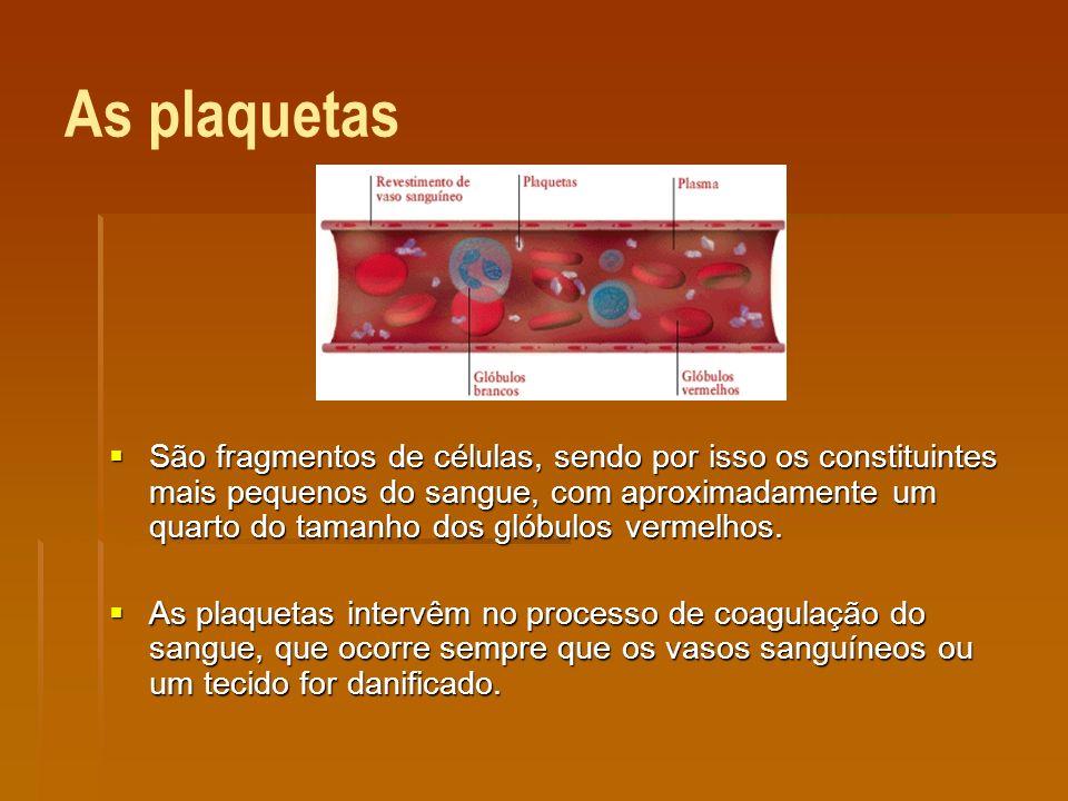 As plaquetas